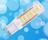 Светодиодная лампа Biom G9 7W 3000K AC220 (керамика)
