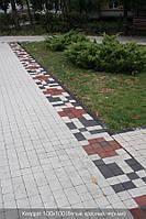 Тротуарная плитка Красная (Квадрат 100\100)
