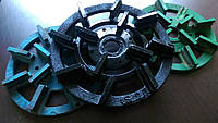 Алмазный полировочный пластмассовый круг  Ф250 мм.  для полировки габбро.гранита, Житомир   сегментные