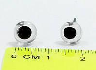 Глазки стеклянные №140 13 мм прозрачные (100шт/уп)