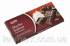 Черный шоколад Karina «Herbe sahne» 200 г