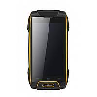 Пылевлагозащищенный смартфон Sigma mobile Х-treme PQ25 black черный с оранжевым