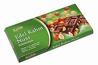Молочный шоколад Karina «Edel Rahm Nuss» с цельным лесным орехом 200 г