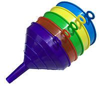 Лейки для бутылки (140мм) пластиковые