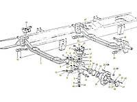 Каталог запчастей#Передняя балка с поворотным механизмом 8х4