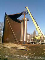 Проектирование и строительство  резервуаров вертикальных стальных от 200м³ до 50000м³