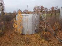 Резервуар стальной вертикальный РВС 1000 м³ для  ГСМ