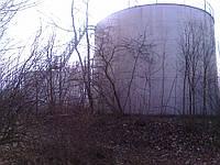 Резервуар стальной вертикальный РВС 700 м³ для ГСМ з монтажем.