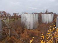 Резервуар стальной вертикальный РВС 2000 м³ для  ГСМ з монтажем.