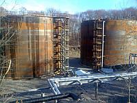 Резервуар стальной вертикальный РВС 5000 м³ для воды