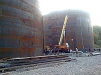 Резервуар стальной вертикальный РВС 5000 м³ для ГСМ