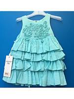 Платье нарядное для девочки от 6ти месяцев до 2х лет