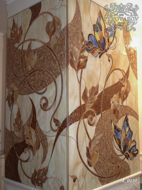 Мозаика для декора колон
