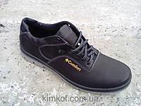 Мужские кожаные кроссовки туфли  41-45 р-р
