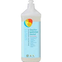 Органическое концентрированное нейтральное средство Sonett для ручного мытья посуды 1 л
