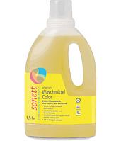 Органическая концентрированная жидкость Sonett для стирки цветных тканей 1,5 л