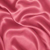 Атлас однотонный плотный - цвет фрезовый