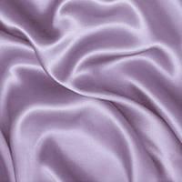 Атлас однотонный плотный - цвет светло-сиреневый