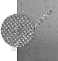 ГТО, GTO Itallia 023 (Bissell), р. 380*570*1.2 мм, цв. серый - резина подметочная/профилактика листовая