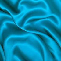 Атлас однотонный плотный - цвет голубой
