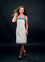 Нежное и празничное платье вышиванка с колоритным волынским рисунком