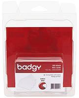 Пластиковые карты из ПВХ x100 - толстые (30 мил - 0.76 мм)(для Badgy200, Zenius, Primacy)