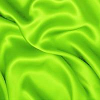 Атлас однотонный плотный - цвет салатовый неоновый