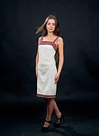 Стильное и празничное вышитое женское платье от волынских мастеров