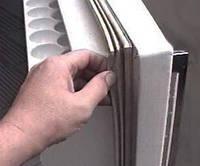 Замена уплотнительной резины на одну дверь холодильника