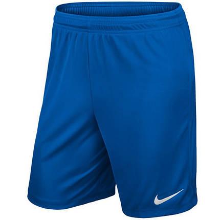 Шорты футбольные Nike Park II Knit 725887-463 Синий, фото 2