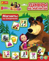 Цифры на магнитах Маша и Медведь Creative 15133003Р