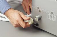 Установка и подключение нового холодильника с подводкой воды к уже установленному запорному вентилю