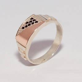 Мужские серебряные кольца