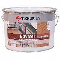 Фасадная краска (Tikkurila Novasil) Новасил База А 9л