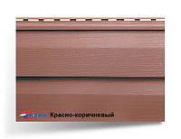 Сайдинг акриловый «Канада плюс» Премиум. 3660.0, 20, Красно-коричневый, 16.84, Украина, 1.22, 230.0