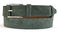 Оригинальный замшевый кожаный мужской ремень 4 см