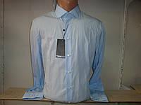 Мужская однотонная рубашка с длинным рукавом Piazza Italia Man
