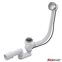 Сифон для ванны Alca Plast автомат комплект хромированный