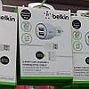 Автомобильное зарядное Belkin 2 USB для iPhone 4/4S, iPhone 3GS, iPod, фото 2