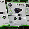 Автомобильное зарядное Belkin 2 USB для iPhone 4/4S, iPhone 3GS, iPod, фото 3