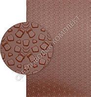 Полиуретан листовой Зима (Украина), 95 Shore A, р. 400*300*6.2 мм, цв. коричневый