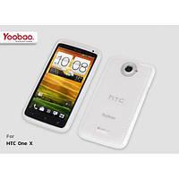 Панель чехол Yoobao 2 in 1 Protect case for HTC One X S720e, white (PCHTCONEX-WT)