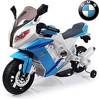 Детский мотоцикл BMW J 528: EVA, 6 км/ч-синий-купить оптом, фото 1