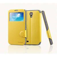 Чехол Книжка Yoobao Fashion leather case for Samsung i9200 Galaxy Mega 6,3, yellow (LCSAMI9200-FYL)