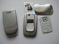 Корпус Nokia 6131 серебро с клавиатурой class AAA