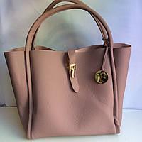 Женская крутая сумка пудра красная черная, фото 1