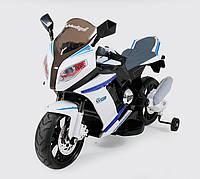Детский мотоцикл BMW J 528: EVA, 6 км/ч-белый-купить оптом, фото 1