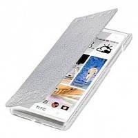 Чехол Книжка Melkco Book leather case for HTC Desire 600, white (O2DE60LCFB2WELC)