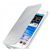 Чехол Книжка Melkco Book leather case for HTC Desire SV, white (O2DSSVLCFB2WELC)