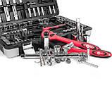 Профессиональный набор инструментов 151 ед INTERTOOL ET-7151, фото 3